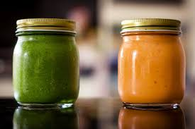 Freezing Pumpkin Puree In Glass Jars by How To Make Smoothie Prep Jars To Save Time One Green Planet