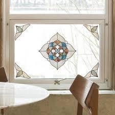 Artscape Decorative Window Film by Artscape 12 In X 12 In Capri Amber Medallion Decorative Window