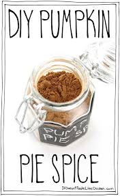 Storing Pumpkin Pie by Diy Pumpkin Pie Spice U2022 It Doesn U0027t Taste Like Chicken