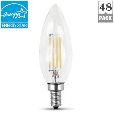 feit electric 60 watt equivalent soft white 2700k b10 dimmable