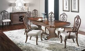 Audrey Traditional Carved Dining Set