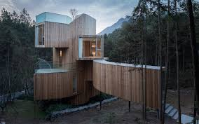 100 Tree House Studio Wood The Qiyun Mountain Bengo ArchDaily