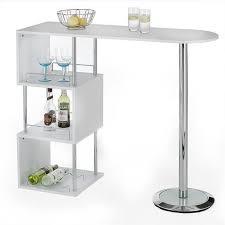table haute bar pas cher 3 meuble bar blanc laque achat vente