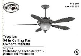 Avion Ceiling Fan Manual by Hampton Bay Tv Remote Controls Operating Manuals Hampton Bay