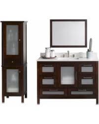 Bathroom Vanity And Tower Set by Don U0027t Miss This Bargain Ronbow Athena 48 Inch Bathroom Vanity Set