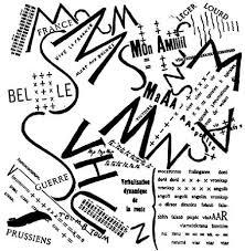 eram siege social marinetti influenciado por mallarmé criou a poéisa visual