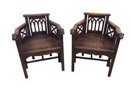 Terrific Pair Of French Gothic Arm Chairs, Whimsical, Oak   EBay ... Safavieh Outdoor Living Abia White Wrought Iron Tree Bench 50 Whimsical Outdoor Wedding Reception With Market Lights And Cross Buy Dedon Mu Lounge Chair Online Clima Oak Leaf Wind Weather Faux Queen Anne Metal Garden Chairs For Sale At 1stdibs Amazoncom Kids Wooden Whimsical Aries The Ram Engraved Lets Do Ding Making It Lovely Shop Contemporary 37 Inch Red Wire By Studio Breezy And The Beautifully Contoured Frame On This Bright Scene Child Size Stock Photo Edit Now