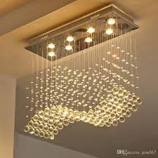 großhandel rectangle kristallle esszimmer pendelleuchte individualität kurze le moderne bartheke rechteck kristall restaurant jess567 173 1