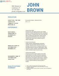 Customer Service For Resume