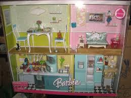 barbie mattel home furniture deluxe gift set kitchen living room