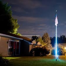 Flagpole Christmas Tree Kit White by Lights For Flagpoles Iron Blog
