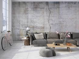 tapete betonoptik holt den alten industriecharme in dein
