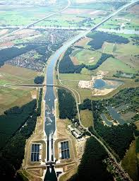 100 Water Bridge Germany The Incredible Magdeburg In