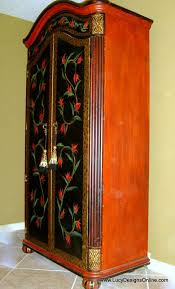 Hand Painted Floral Armoire And Diamond Harlequin Pattern Armoire ... 74 Best Handpainted Fniture Images On Pinterest Painted Best 25 Wardrobe Ideas Diy Interior French Provincial Armoire Abolishrmcom Vintage And Antique Fniture In Nyc At Abc Home Powell Masterpiece Hand Jewelry Armoire 582314 Silver Mirrored Full Length Mirror 21 Painted Tibetan Cabinet Abcs Of Decorating Barn Armoires Update Kitchen Sold Hooker Closet Or Eertainment Center Satin Black