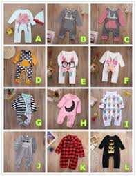 Fashion Jumpsuit Baby Romper Cotton Pajamas Christmas Bodysuit Plaid Crown Striped Pink Red Boy Girl Kid Clothing Outfits 0 24M Toddler Suit
