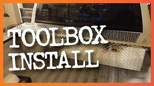 Easy Truck Tool Box Install - YouTube Storage Bed Dodge Ram 1500 Box Shop Kobalt Truck Mounting Kit At Lowescom How To Install A Decked Youtube Equipment Ladder Racks Boxes Caps Chest Tool Home Depot Best Resource Cap World Toolboxes Weather Guard Uws Step Tricks At Tractor Supply To A Trrac Tracone Tacoma Mount No Mount34000 The Build Tote Howtos Diy