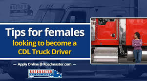 Tips For Females Looking To Become Truck Drivers | Roadmaster ... How Long Does It Take To Become A Commercial Truck Driver 5 Reasons Become Western School To A Practical Tips Insights Cdl Roadmaster Drivers On Vimeo Am I Too Old The Official Blog Of Drivesafe Act Would Lower Age Professional Truck Driver For Females Looking Want Life The Open Road Heres What Its Like Be No Experience Need Youtube Driving Careers With Hayes Transport Put You And Your Family First Becoming Trucker