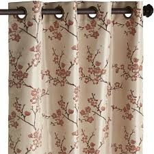 Pier One Curtains Panels by Cherry Blossom Curtain Coral Pier 1 Imports Ideas For New