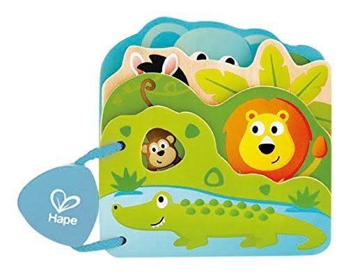 Hape E0047 Baby's Wild Animal Book
