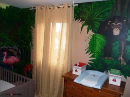 chambre de b b jungle impressionnant deco chambre bebe theme jungle et chambre jungle