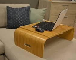 plateaux et supports pour ordinateurs portables etsy fr