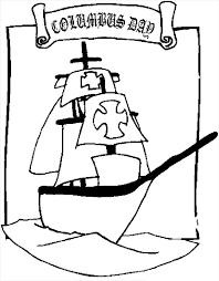 Columbus Day Coloring Pages Free Printable Download