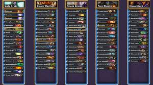 Hearthstone Deck Builder Tool by Which One Is The Easiest Deck To Climb On Ranked Standard