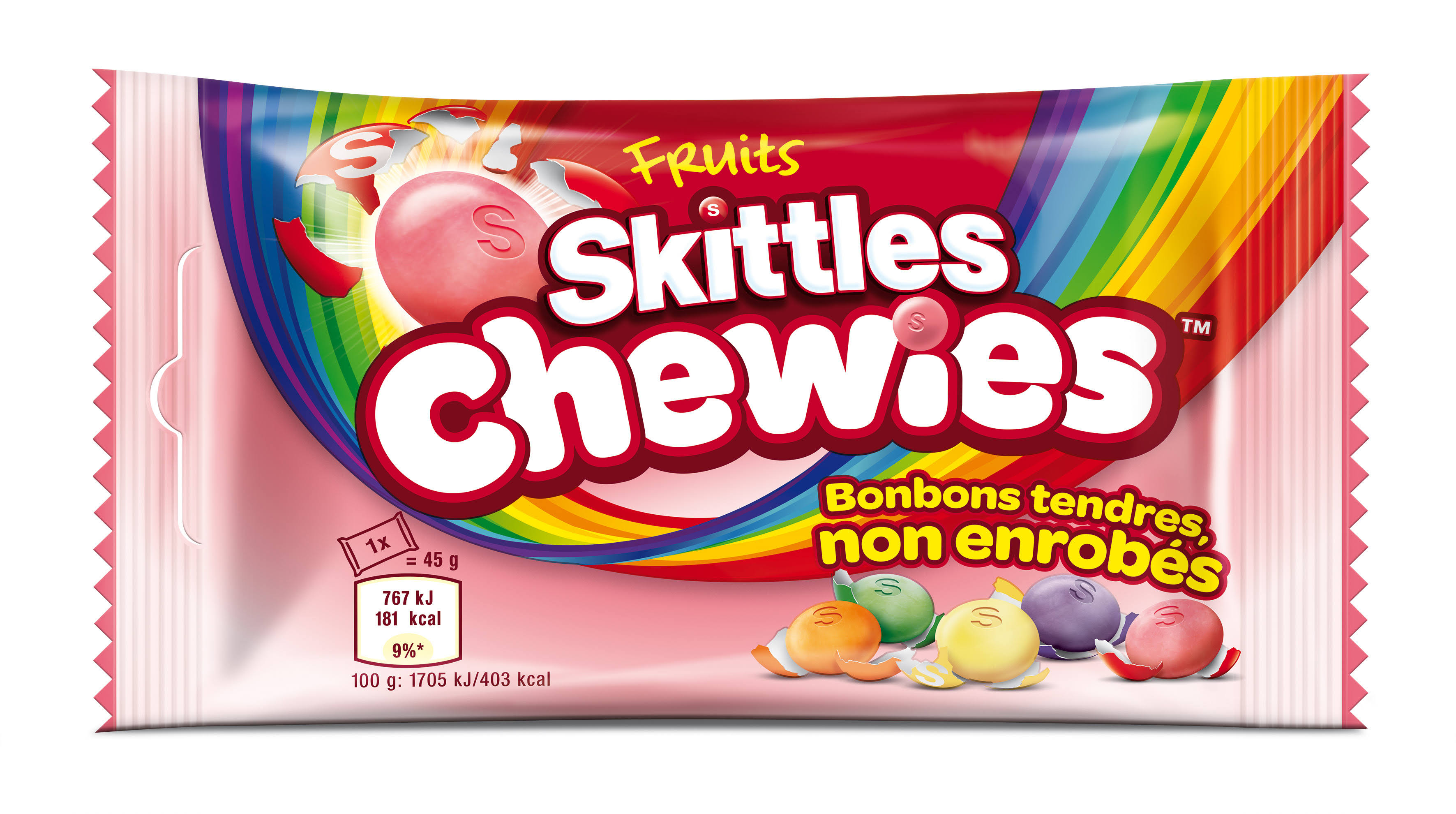 Skittles Chewies Fruits Sweets - 45g