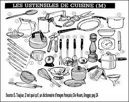ustensiles de cuisines les ustensiles de la cuisine le coin de français