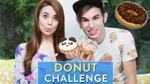 Nerdy Nummies Halloween Special by Donut Challenge W Jake Roper Youtube