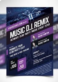 Music Event Poster Design Psd Digital Graphic Inspiration