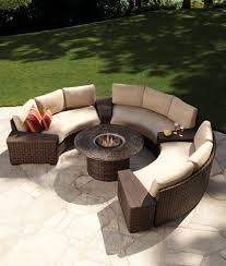 Outdoor Sectional Sofa Big Lots by Semi Circle Patio Furniture Kh Trends Including Pictures Pursuit