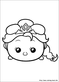 Tsum Coloring Picture