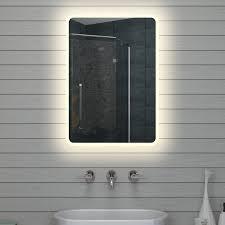 len fra wandspiegel spiegel ida modern silber 143 x 53 cm