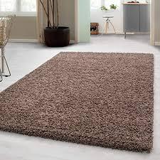 hochflor shaggy teppich für wohnzimmer langflor pflegeleicht schadsstof geprüft 3 cm florhöhe oeko tex standarts teppich maße 300x400 cm farbe mocca
