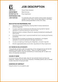 Sales Associate Job Description Resume Best Resumes It Sample Cover Letter At