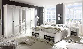 schlafzimmer mit bett 180 x 200 cm pinie weiss imv