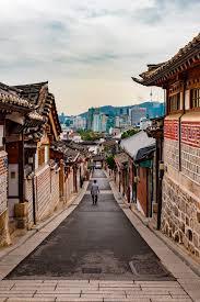 100 South Korean Houses Bukchon Hanok Village Seoul Korea The Houses In The