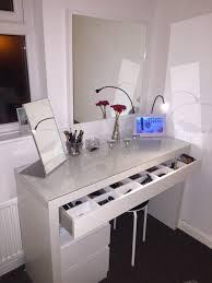 Desk Drawer Organizer Ikea by Leveza De Uma Mesa De Make Super Organizada Espaço Md