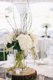 Table Flowers For Wedding Reception 25 Cute White Ideas