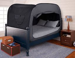 this bed tent is genius simplemost