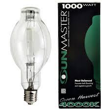 1000w Green Harvest 4000K Metal Halide Lamp Universal Burn