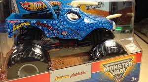 Hot Wheels Monster Jam 1 24 Jurassic Attack Review! - YouTube 100 Bigfoot Presents Meteor And The Mighty Monster Trucks Toys Truck Cars For Children Cartoon Vehicles Car With Friends Ambulance And Fire Walking Mashines Challenge 3d Teaching Collection Vol 1 Learn Colors Colours Adventures Tow Excavator The Episode 16 Tv Show Monster School Bus Youtube