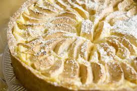 schmackhaftes rezept für apfelkuchen mit pudding und schmand