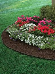 Flowers For Flower Beds by Decor Metal Landscape Edging With Pebbbles And Flowers For Garden