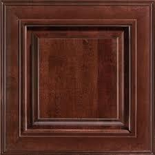 American Woodmark 14 9 16x14 1 2 in Savannah Cherry Cabinet Door