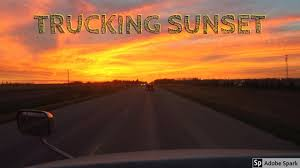 TJV Mon - TRUCKING SUNSET - #1229 - YouTube