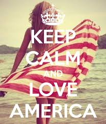Keep Calm Template Free Awesome And Love America Carry On Image