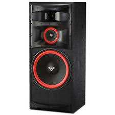 cerwin vega floor standing tower home speakers subwoofer ebay