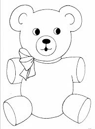 Fancy Bear Coloring Pictures 23 For Your Line Drawings With